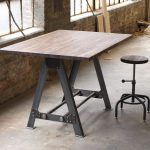 industrial a frame table kitchen island bar