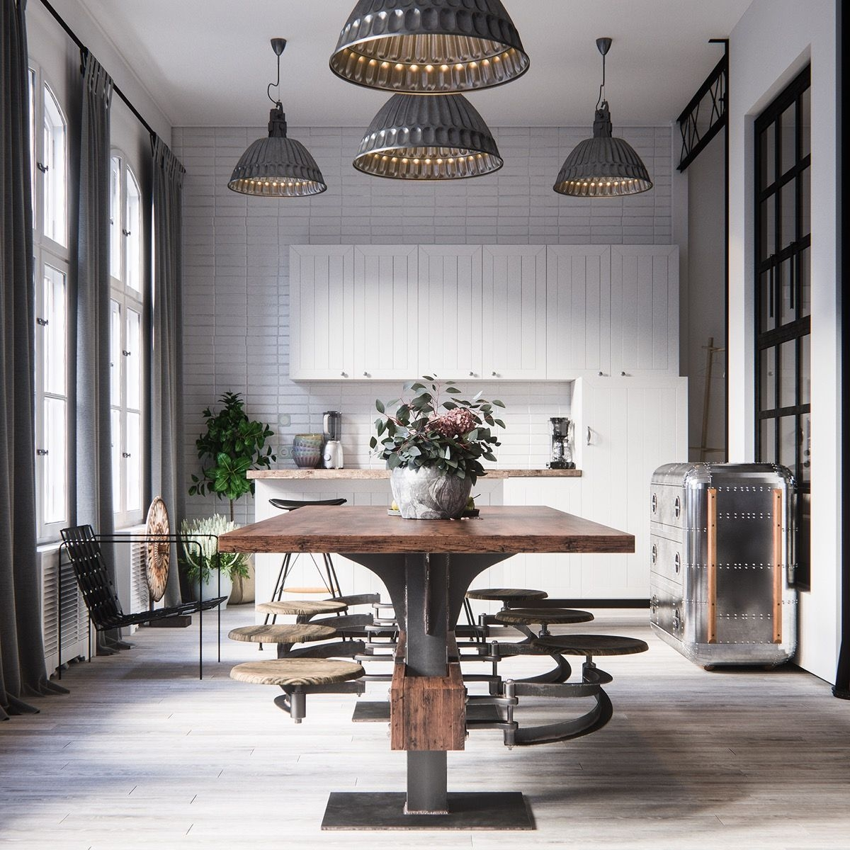 industrial style dining room design the essential guide random