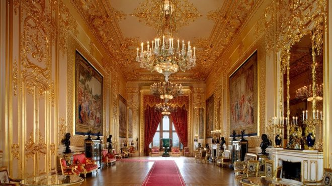 inside buckingham palace grand tour youtube