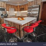 interior design decor showing modern kitchen and appliances in