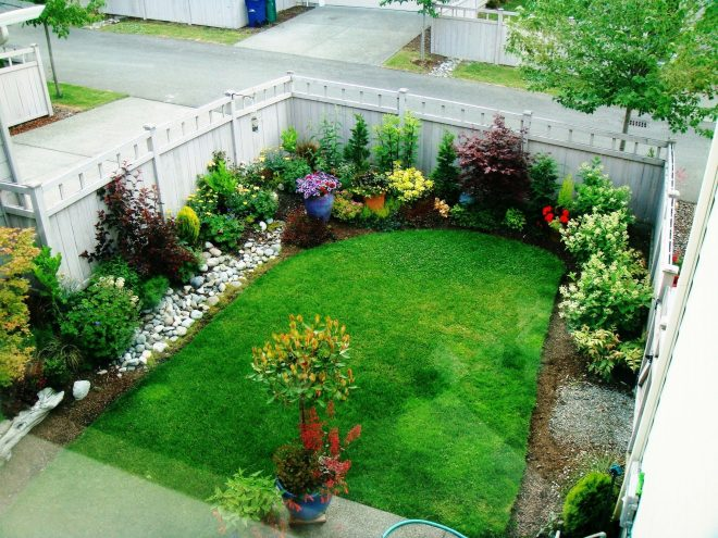 is your yard or garden small on space get big tips and ideas on