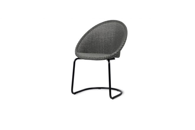 jack dining chair cantilever base