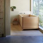 japanese hinoki wood bath buckets high and low