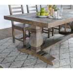 kasey reclaimed wood dining table kosas home