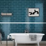 kbbark 13 ways to go blue in your bathroom
