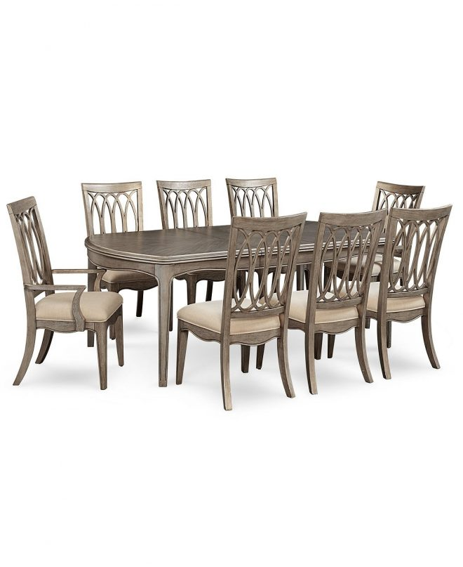 kelly ripa home hayley 9 pc dining set dining table 6 side chairs