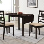 kelso rectangular dining table with drop leaf cappuccino