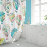 kids shower curtain extra long shower curtains kids bathroom etsy
