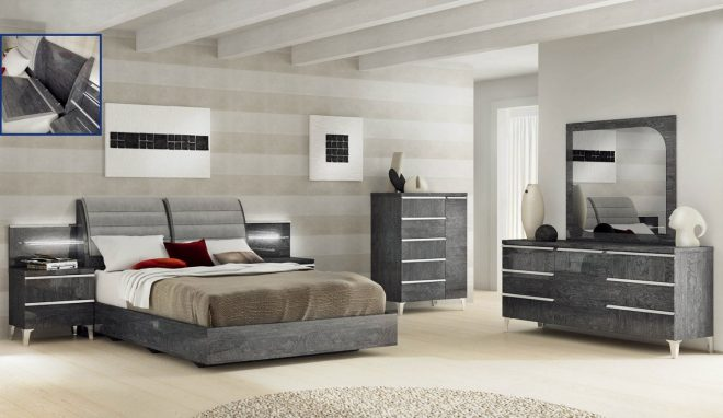 Modern King Bedroom Furniture Sets | Opnodes