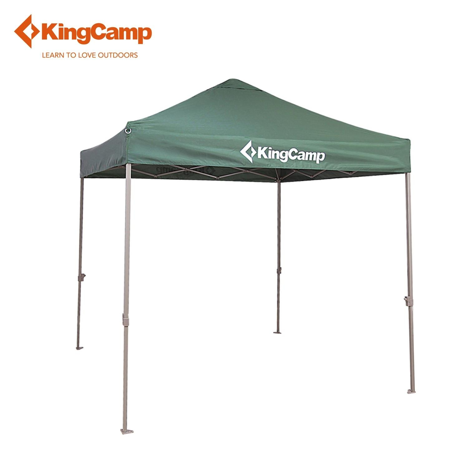 kingcamp portable easy up sun shelter top grade outdoor canopy tent for patio party picnic commercial fair shelter car