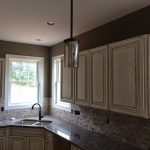 kitchen cabinets paint ideas distressed cream cabinets
