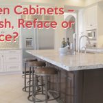 kitchen cabinets refinish reface or replace youtube