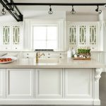 kitchen design traditional white kitchen cabinet withtrack