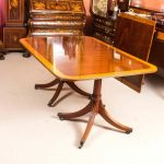 kitchen design vintage dining room table and ten chairs