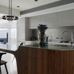 kitchen island idea a multi height island with
