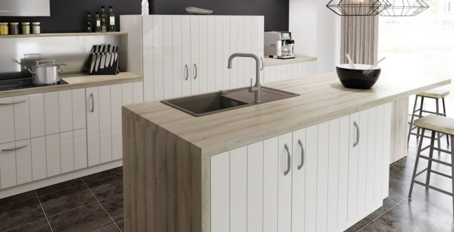 kitchen island with sink the perfect workstation blanco