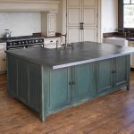 kitchen island with zinc countertop bing images