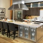 kitchen islands with sink dishwasher and seating kitchen