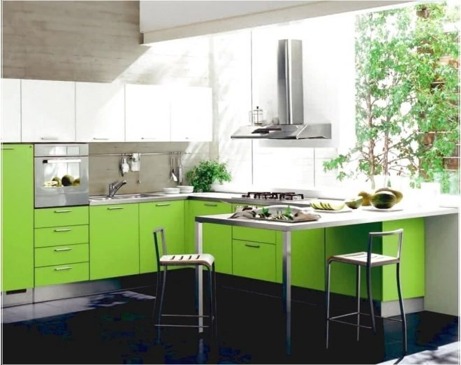 kitchen minimalist two toned white and green kitchen cabinet ideas