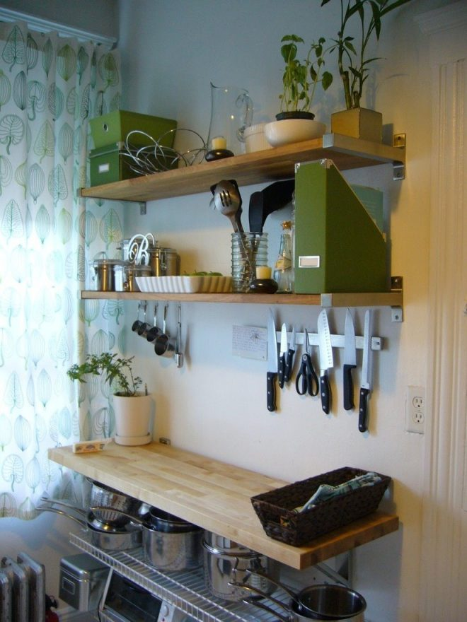 kitchen shelves and racks white countertops with dark wooden dining