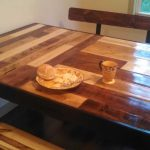 kitchen table benches from repurposed pallets 1001 pallets