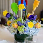 kitchen themed bridal shower centerpieces projects to try
