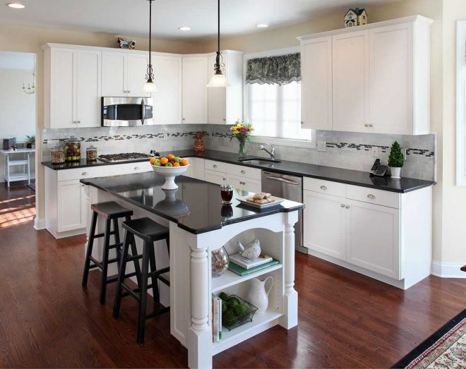 kitchens with white cabinets and black granite replicaoutlet