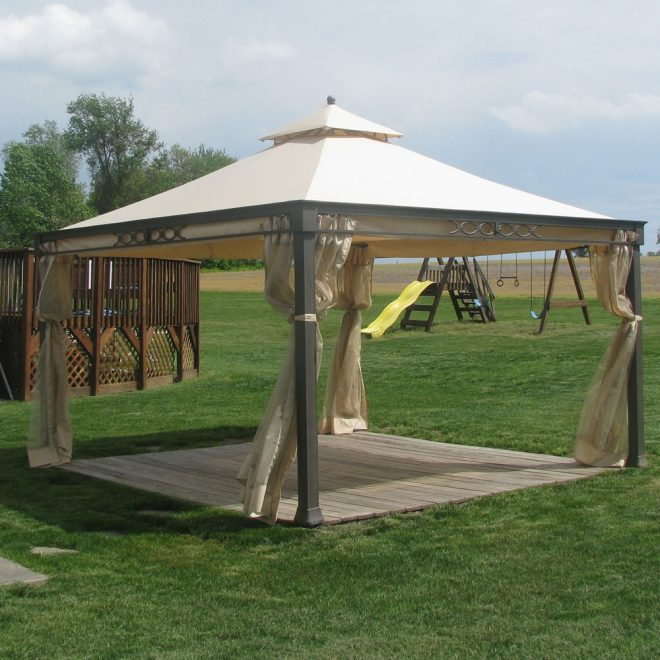kmart marth stewart shelter island gazebo replacement canopy