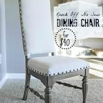knock off no sew dining chairs blesser house