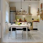 l shaped open plan kitchen living dining google search