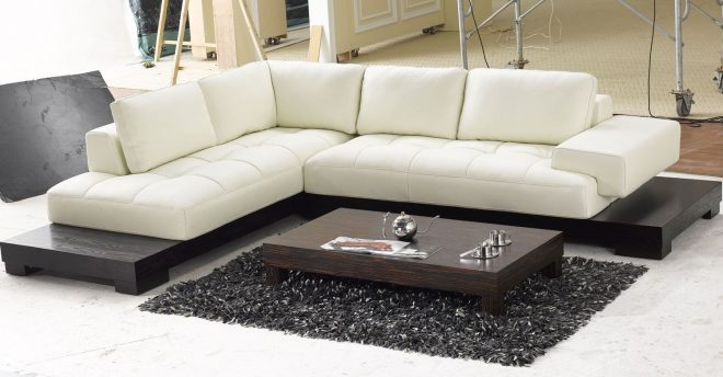 l shaped sofa home contemporary leather sofa leather sectional