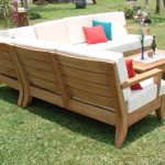 lacquer a teak outdoor sofa amazing swimming pool