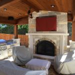 lago vista tx outdoor fireplaces austin decks pergolas covered