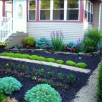 landscape ideas for front yard no grass home design hillside