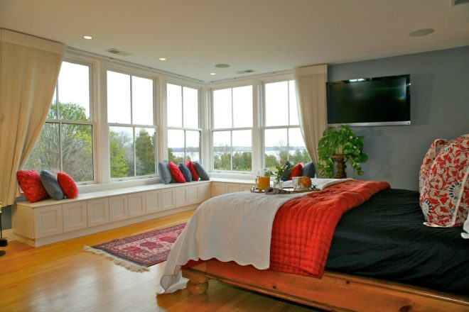 large windows facing in master bedroom ideas tiny bedroom