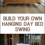 learn how to build your own hanging day bed swing porch