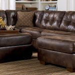leather sectional sleeper sofa with chaise sofas brown