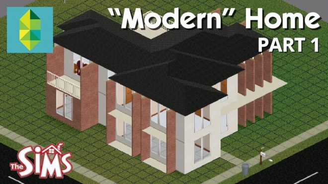 lets build a modern home in the sims 1 part 1