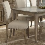 liberty furniture weatherford rustic casual upholstered side chair