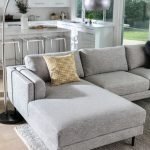 light grey sectional with chaise heppe
