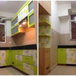 live working indian modular kitchen design detail simple with vibrant colours plan n design
