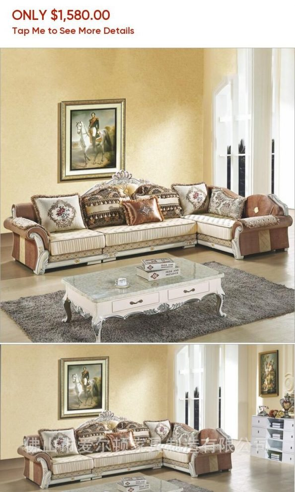 living room furniture modern fabric sofa european sectional