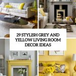 living room ideas living room gray and yellow inspirational