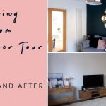 living room makeover tour before and after