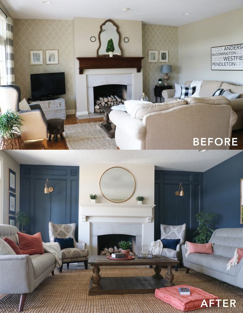 living room makeover with the roomplace bloggers best diy ideas