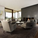 living room with floor to ceiling windows which can be