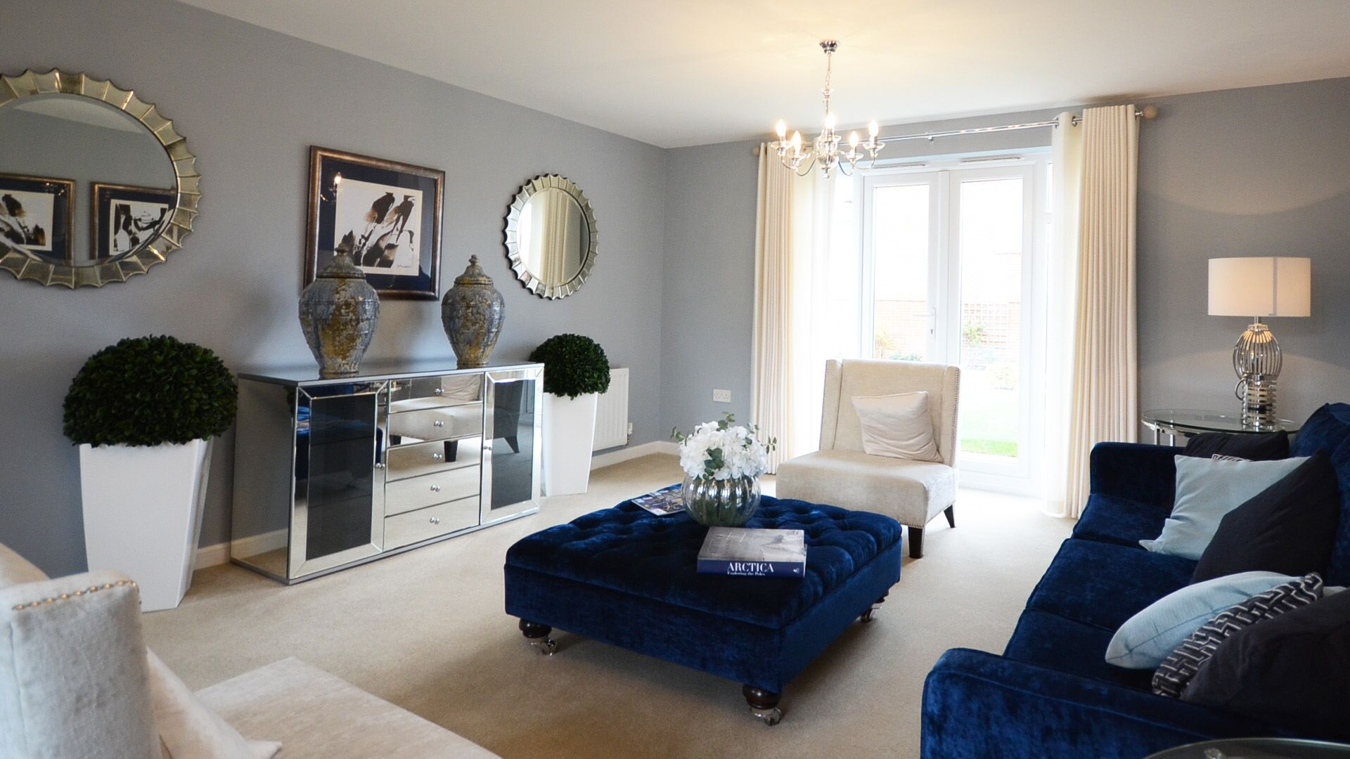 living room with french doors layout lettings agent windsor