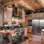 log cabin kitchen ideas 42 roomhouse pinterest cabin kitchens