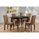 lorain transitional rectangular dining table cappuccino