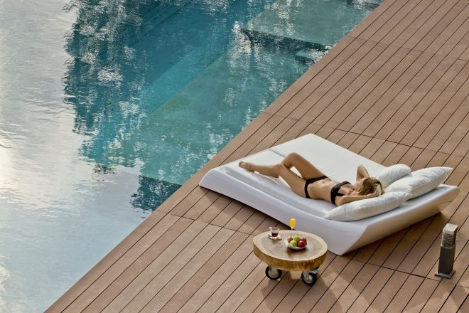 lounge bed ligbed sun bed sunbed in 2019 outdoor lounge